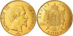 Coin, France, Napoleon III, Napoléon III, 100 Francs, 1859, Paris,
