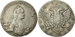 World Coins - Coin, Russia, Catherine II, Rouble, 1768, Saint-Petersburg, Rare,