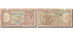 World Coins - Banknote, French Somaliland, 20 Francs, KM:7a, VF(30-35)