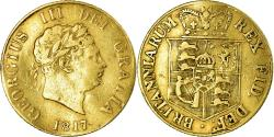 World Coins - Coin, Great Britain, George III, 1/2 Sovereign, 1817, London, , Gold