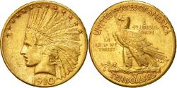 Us Coins - Coin, United States, Indian Head, $10,1910, San Francisco,,Gold, KM 130