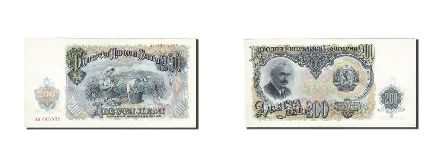 World Coins - Bulgaria, 200 Leva, 1951, 1951, KM:87a, AU(55-58)