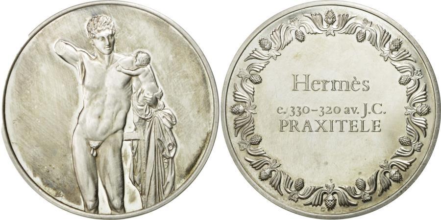 World Coins - France, Medal, Hermès, Praxitele, , Silver