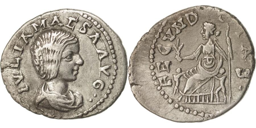 Ancient Coins - Julia Maesa, Denarius, 221, Antioch, , Silver