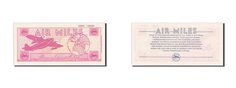 World Coins - Great Britain, Voucher, Air Miles, 1980-1988