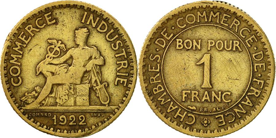 France chambre de commerce franc 1922 paris vf 30 35 for Chambre de commerce polonaise en france