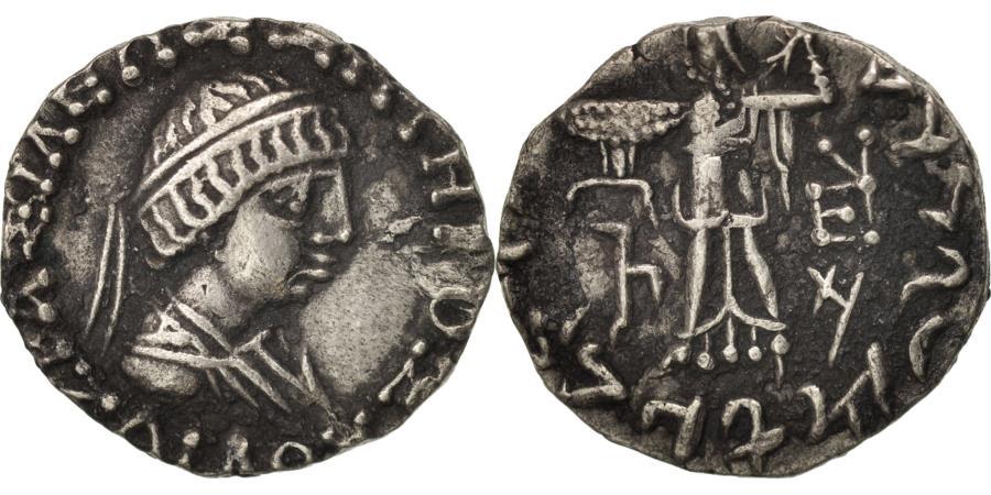 Ancient Coins - Zoilos II, Baktria, Drachm, 45-35 BC, Silver, SNG ANS:1668
