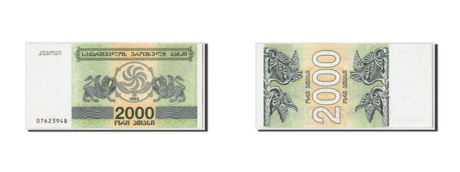 World Coins - Georgia, 2000 (Laris), 1993, Undated, KM:44, UNC(65-70)