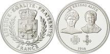 World Coins - France, Medal, Centenaire Première Guerre Mondiale, Réseau Alice, History