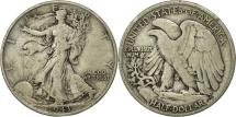Us Coins - United States, Walking Liberty Half Dollar, Half Dollar, 1943, U.S. Mint