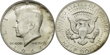 Us Coins - United States, Kennedy Half Dollar, Half Dollar, 1964, Philadelphia, KM 202