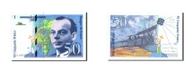 World Coins - France, 50 Francs, 50 F 1992-1999 ''St Exupéry'', 1992, KM:157a, 1992, UNC(64)