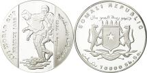 World Coins - Somalia, World Cup France 1998, 10 Shillings / Scellini, 1998, MS(64), Argent