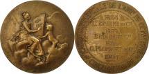 World Coins - France, Medal, Cinquantenaire de la Caisse Commerciale de Compiègne, 1904