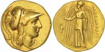 Macedonia (Kingdom of), Alexander III The Great, Stater, Aigai, AU(50-53), Gold