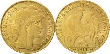 World Coins - France, Marianne, 10 Francs, 1911, Paris, EF(40-45), Gold, KM:846, Gadoury:1017