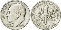 Us Coins - United States, Roosevelt Dime, Dime, 1952, U.S. Mint, Denver, EF(40-45), Silver