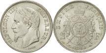 World Coins - France, Napoleon III, 2 Francs, 1869, Strasbourg, MS(60-62), Silver, KM:807.2