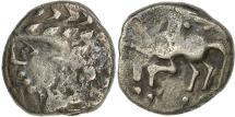 Ancient Coins - Allobroges, Denier au caducée, VF(30-35), Silver, Delestré:3113