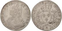 World Coins - France, Louis XV, 1/2 Écu aux branches d'olivier, 1726, Amiens, KM 484.22