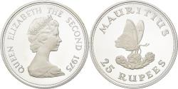 Ancient Coins - Coin, Mauritius, 25 Rupees, 1975, Proof, , Silver, KM:40a