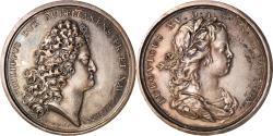 World Coins - France, Medal, Louis XV, Régence de Philippe d'Orléans, Duvivier, Restrike