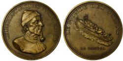 World Coins - France, Medal, Commandant Jacques Yves Cousteau, Duboc, , Bronze