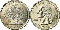 Us Coins - Coin, United States, Connecticut, Quarter, 1999, U.S. Mint, Denver,