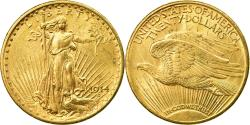 Us Coins - Coin, United States, Saint-Gaudens, $20, Double Eagle, 1914, San Francisco