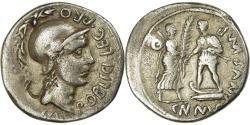 Ancient Coins - Coin, Pompeia, Denarius, Rome, , Silver, Crawford:469/1a