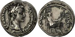 Ancient Coins - Coin, Tiberius, Denarius, Lyon - Lugdunum, Fourrée, , Silver, Cohen:16
