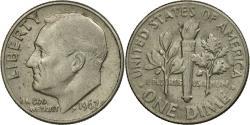 Us Coins - Coin, United States, Roosevelt Dime, Dime, 1967, U.S. Mint, Philadelphia