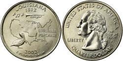 Us Coins - Coin, United States, Quarter, 2002, U.S. Mint, Philadelphia,