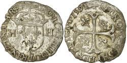 World Coins - Coin, France, Henri IV, Douzain, 1591, Saint Lô, , Billon