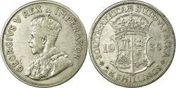 World Coins - Coin, South Africa, George V, 2-1/2 Shillings, 1935, , Silver, KM:19.3