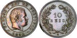 World Coins - Coin, Portugal, Carlos I, 10 Reis, 1892, Portugal Mint, , Bronze