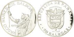 World Coins - Coin, Panama, 20 Balboas, 1979, U.S. Mint, Proof, , Silver, KM:44