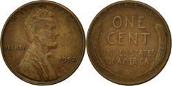 Us Coins - United States, Lincoln Cent, Cent, 1952, U.S. Mint, Philadelphia,
