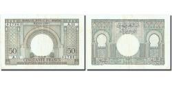 World Coins - Banknote, Morocco, 50 Francs, 1949, 1949-12-02, KM:21, AU(55-58)