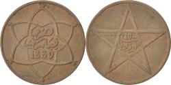 World Coins - MOROCCO, 10 Mazunas, 1912, bi-Bariz, KM #29.1, , Bronze, Lecompte #91,.