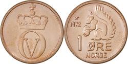 World Coins - NORWAY, Ore, 1972, KM #403, , Bronze, 16, 2.00