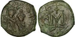 Ancient Coins - Coin, Heraclius, with Heraclius Constantine, Follis, 612-613, Kyzikos