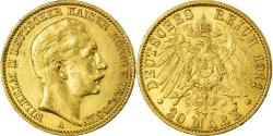 Ancient Coins - Coin, German States, PRUSSIA, Wilhelm II, 20 Mark, 1911, Berlin,