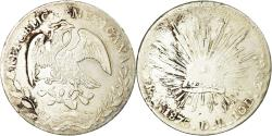 World Coins - Coin, Mexico, 8 Reales, 1875, Alamos, , Silver, KM:377
