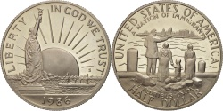 Us Coins - United States, Half Dollar, 1986, U.S. Mint, San Francisco,