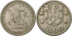 World Coins - Coin, Portugal, 5 Escudos, 1963, , Copper-nickel, KM:591