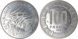 World Coins - Coin, Congo Republic, 100 Francs, 1975, Paris, ESSAI, , Nickel, KM:E3