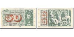 World Coins - Banknote, Switzerland, 50 Franken, 1961-74, KM:48e, EF(40-45)