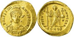 Justinian I 527-565, Solidus, Constantinople, , Gold, Sear 137