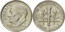 Us Coins - Coin, United States, Roosevelt Dime, Dime, 2000, U.S. Mint, Philadelphia